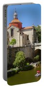 St Goncalo Cathedral Portable Battery Charger by Carlos Caetano