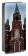 St. Josaphat Roman Catholic Church Detroit Michigan Portable Battery Charger by Gordon Dean II
