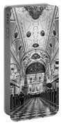 St. Louis Cathedral Monochrome Portable Battery Charger