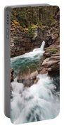 St. Mary Falls Glacier National Park Portable Battery Charger