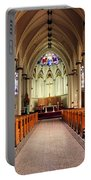 St. Mary's Basilica Halifax Portable Battery Charger by Kristin Elmquist