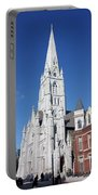 St. Mary's Basilica Portable Battery Charger by Kristin Elmquist