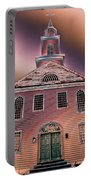 St. Mary's Episcopal Church In Pastel Portable Battery Charger