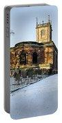 St Modwen's Church - Burton - In The Snow Portable Battery Charger
