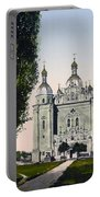 St Paul And St Peter Cathedrals In Kiev - Ukraine - Ca 1900 Portable Battery Charger