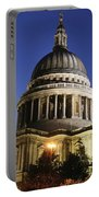 St Pauls Cathedral At Dusk, Exterior Portable Battery Charger