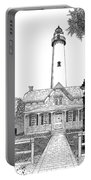 St. Simons Lighthouse Portable Battery Charger