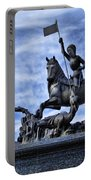 St Vitus Cathedral - St George Statue  Portable Battery Charger