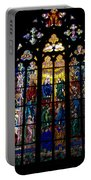 St Vitus Cathedral Stained Glass Portable Battery Charger