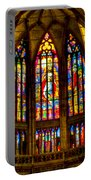 St Vitus Main Altar Stained Glass Portable Battery Charger