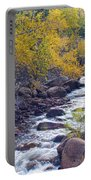 St Vrain Canyon And River Autumn Season Boulder County Colorado Portable Battery Charger