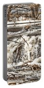 St Vrain River Waterfall   Portable Battery Charger