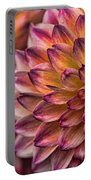 Stacked Dahlias Portable Battery Charger