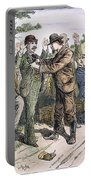Stagecoach Robbery, 1880s Portable Battery Charger
