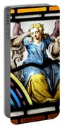Stained Glass Angel Portable Battery Charger