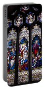 Stained Glass - Bath Abbey Portable Battery Charger