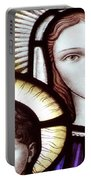 Stained Glass Holy Family Portable Battery Charger