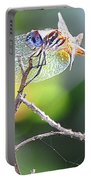 Stained Glass Inspiration Feminine Portable Battery Charger