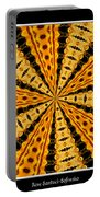 Stained Glass Kaleidoscope 37 Portable Battery Charger