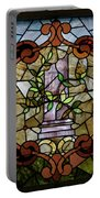 Stained Glass Lc 12 Portable Battery Charger by Thomas Woolworth