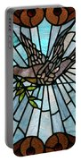 Stained Glass Lc 14 Portable Battery Charger by Thomas Woolworth