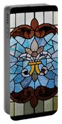 Stained Glass Lc 19 Portable Battery Charger by Thomas Woolworth