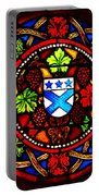 Stained Switzerland Window Portable Battery Charger