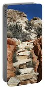 Staircase Stones Portable Battery Charger by Kelley King