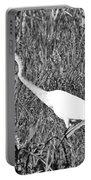 Stalking Egret Portable Battery Charger