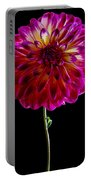 Stand Up Dahlia Portable Battery Charger