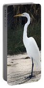 Stately Egret Portable Battery Charger
