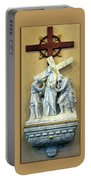 Station Of The Cross 02 Portable Battery Charger