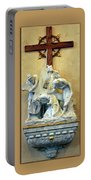 Station Of The Cross 03 Portable Battery Charger