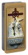 Station Of The Cross 04 Portable Battery Charger