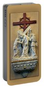 Station Of The Cross 05 Portable Battery Charger