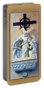 Station Of The Cross 08 Portable Battery Charger