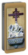 Station Of The Cross 09 Portable Battery Charger