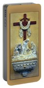 Station Of The Cross 13 Portable Battery Charger