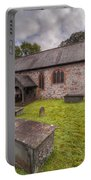 St.dyfnog's Church Portable Battery Charger by Adrian Evans