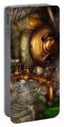 Steampunk - Naval - Shut The Valve  Portable Battery Charger