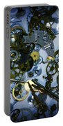 Steampunk Gears - Time Destroyed Portable Battery Charger