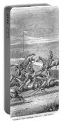 Steeplechase, 1863 Portable Battery Charger