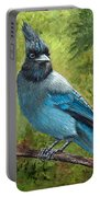 Stellar Jay Portable Battery Charger by Dee Carpenter