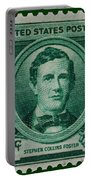 Stephen Collins Foster Postage Stamp Portable Battery Charger
