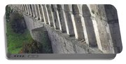 Stone Arches And Shadows Portable Battery Charger