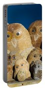 Stone Owls Portable Battery Charger