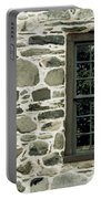 Stone Wall With A Window Portable Battery Charger