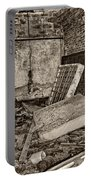 Stonehaven Rehab Sepia Portable Battery Charger