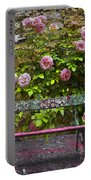 Stop And Smell The Roses Portable Battery Charger
