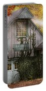 Store - Hollyhocks And Ivy  Portable Battery Charger